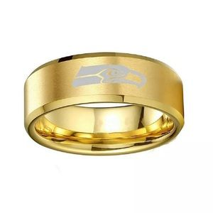 Jewelry - Seattle Seahawks Gold Ring